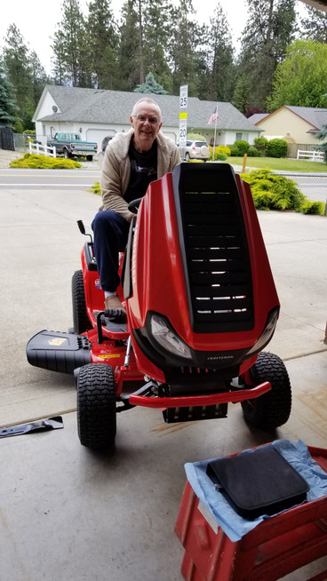 New Riding Lawnmower