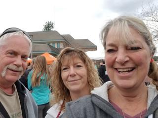 April - Mark, Wendie, Kath