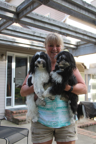 May - Daisie, Kath, Joey
