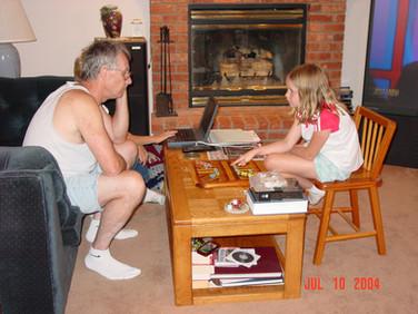 July - Bob, Katelyn