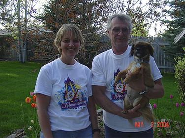 April - Kath, Bob, Mokie