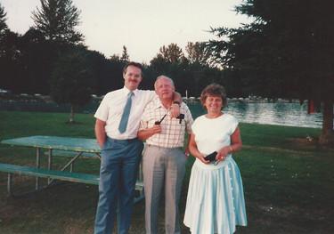 July - Bob, George & Mary
