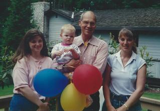 June -Linda, Fiona, Dad, Kath