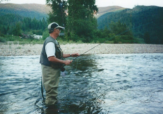 July CDA River - Bob