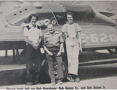 July - Rob, Bob Sr, Bob