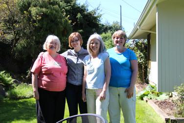 Mom, Fiona, Linda, Kath