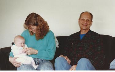 March - Fiona, Kath, Dad