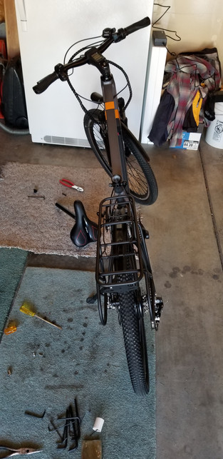 Bob's new e-bike