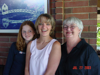 July - Fiona, Kath, Shirley