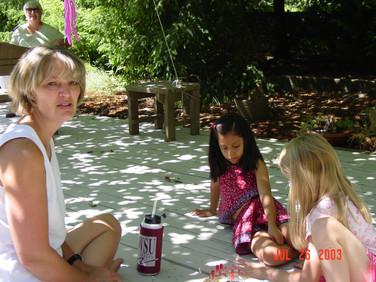 July - Kath, friend, Katelyn