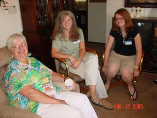 Aug - Shirley, Linda, Fiona