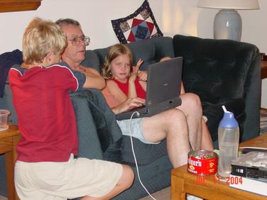 July - Marcus, Bob, Katelyn
