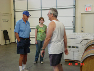 July - Dad, Fiona, Bob