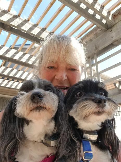 Kath, Daisie, & Joey