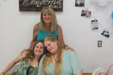 June - Jesse, Kath, Kate