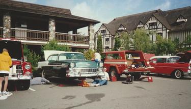 Bob & Frank Lind's car