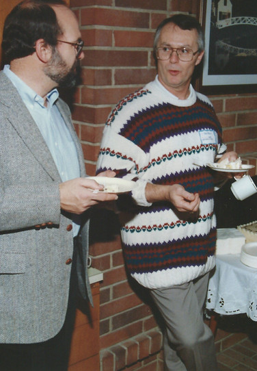 Leonard's 90th party