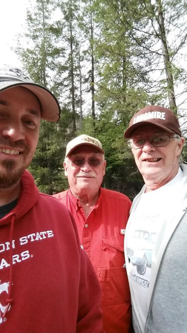 CDA River  - Brian, Jim, Bob