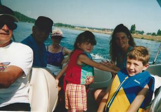 July boating