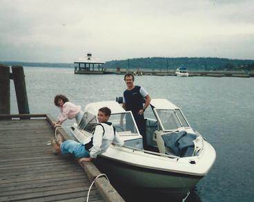 1986 Tracy, Brian, & Bob