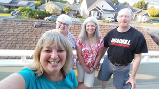 Kath, Shirley, Linda, Spence