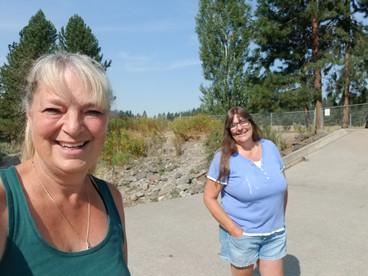 Social Distance walk with Karen