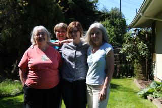 Mom, Kath, Fiona, Linda