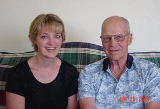 June - Kath, Dad
