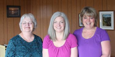Shirley, Linda, Kath