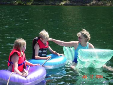 July - Katelyn,Marcus,Kath