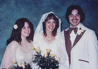 March - Linda, Kath, Brian