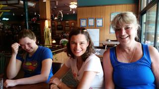 May - Katelyn, Megan, Kath