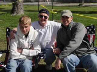 April - Marcus, Bob, Brian