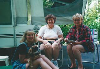 Kath, Mokie, Lois, Jeannie
