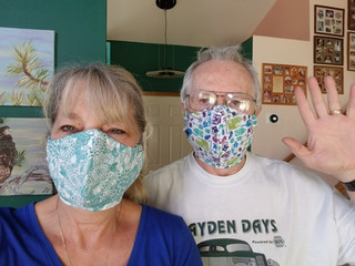 Tracy masks!