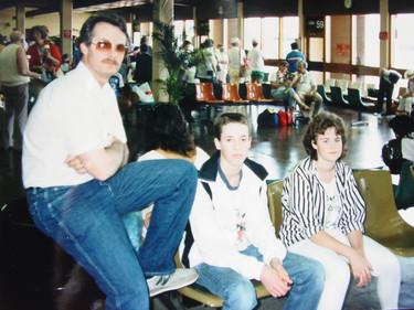 April - Bob, Brian, Tracy