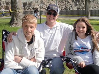 April - Marcus, Bob, Katelyn
