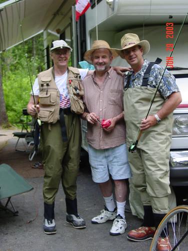 June - Bob, Dick, Bret