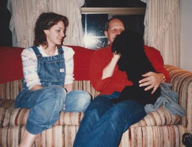 Kath, Dad, Rosie