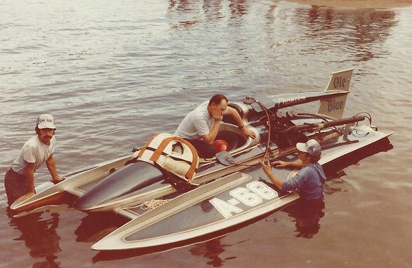 1978 Bolam 100 Jeff, Dick, Bob Ole Blue
