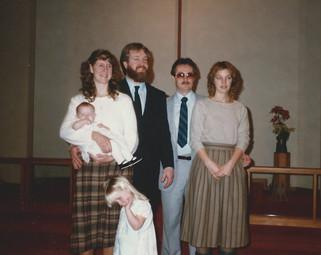 Rebecca Kennedy baptism