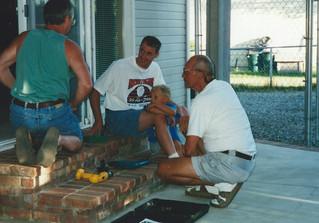 July - Bob,Brian,Marcus,Dad