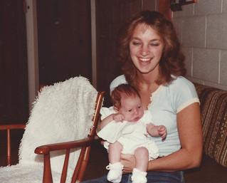 1981-11 Bolam 020 Kath, Rachel Kennedy a