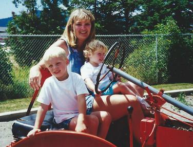 July - Marcus, Kath, Katelyn