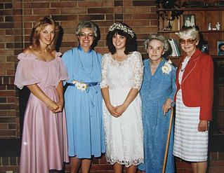 Aug - Kath, Shirley, Linda, Atha, Dot