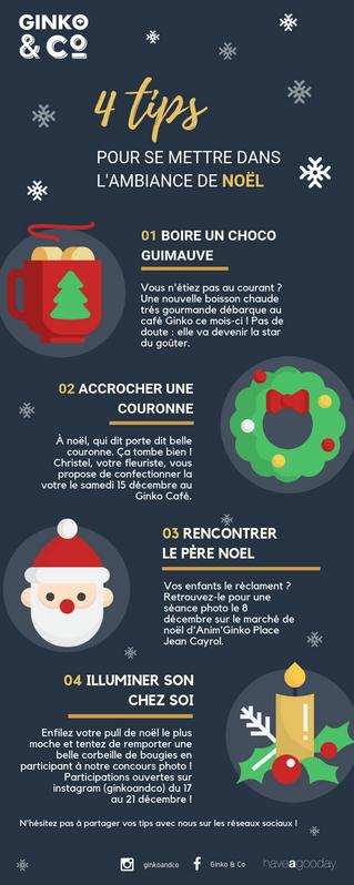 4 Tips pour se mettre dans l'ambiance de Noël !