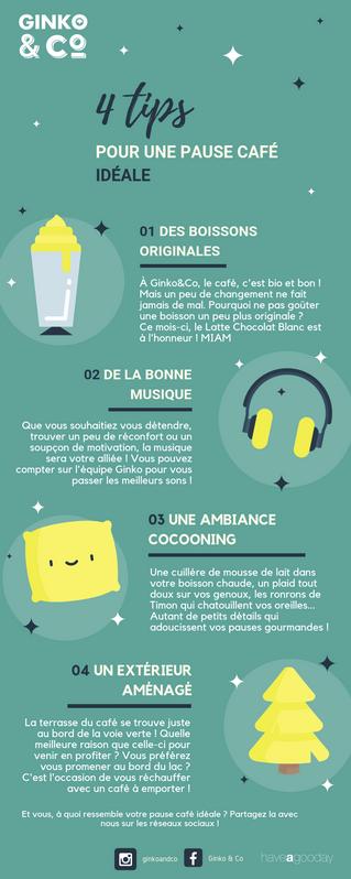 4 Tips pour une pause café idéale !