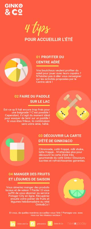 4 Tips Pour accueillir l'été