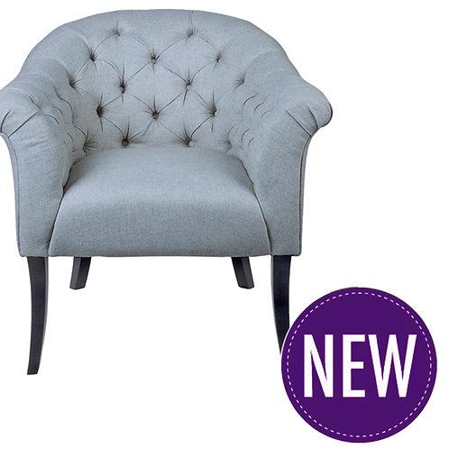 Kitson Tufted Chair – Grey