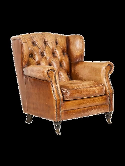 Caramel Leather Chair
